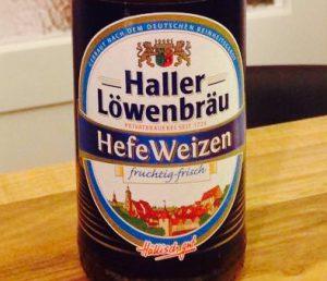 Haller Löwenbräu - Hefe Weizen