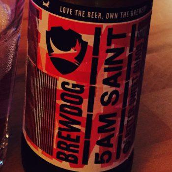 Brewdog - 5am Saint