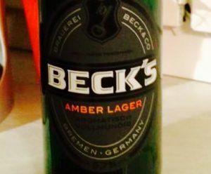 Becks - Amber Lager
