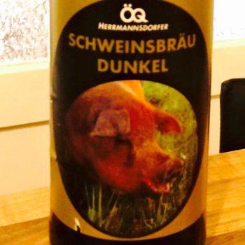 Hermannsdorfer - Schweinsbräu Dunkel
