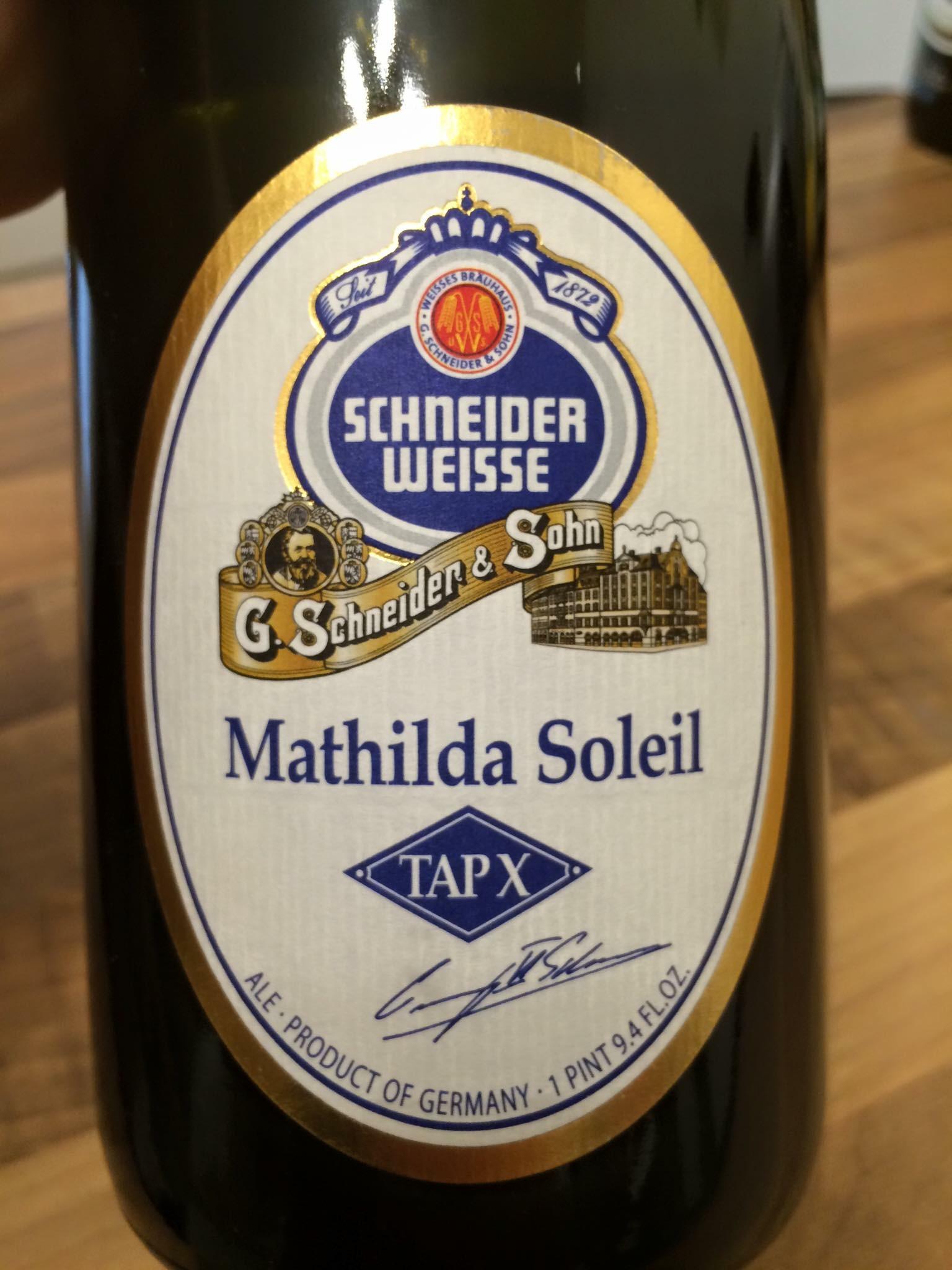 Schweizer Weisse - Mathilda Soleil