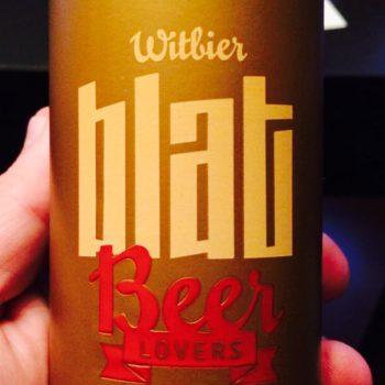 Witbier Blat