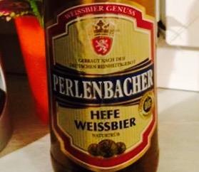 Perlenbacher - Hefe Weissbier