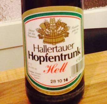 Hallertauer - Hopfentrunk Hell