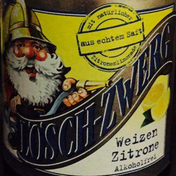 Lösch-Zwerg - Weizen Zitrone