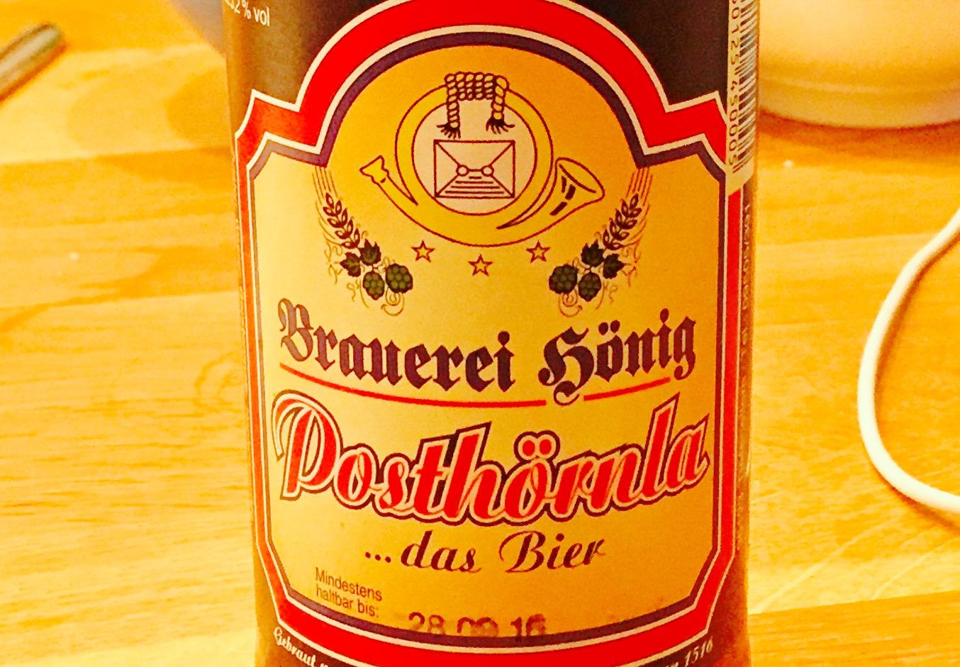 Posthörnla - das Bier