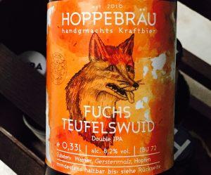 Hoppebräu - Fuchs Teufelwuid