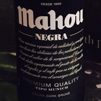 Mahou - Negra