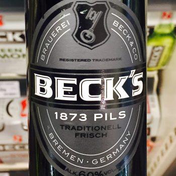 Becks - 1873 Pils
