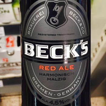 Becks - Red Ale