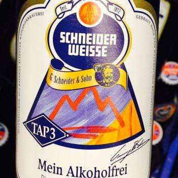 Schneider Weisse - TAP3 Mein Alkoholfreies, Beer, Tasting, Rating, Bier, Verkostung, Bewertung, Alle Biere der Welt, hier bei BeerToGo