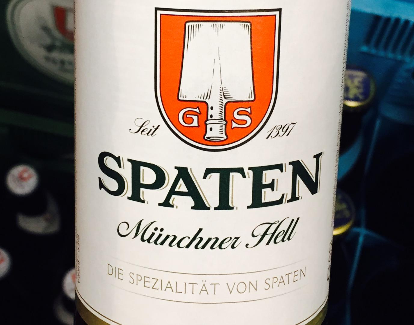 Spaten - Münchener Hell, Beer, Tasting, Rating, Bier, Verkostung, Bewertung, Alle Biere der Welt, hier bei BeerToGo