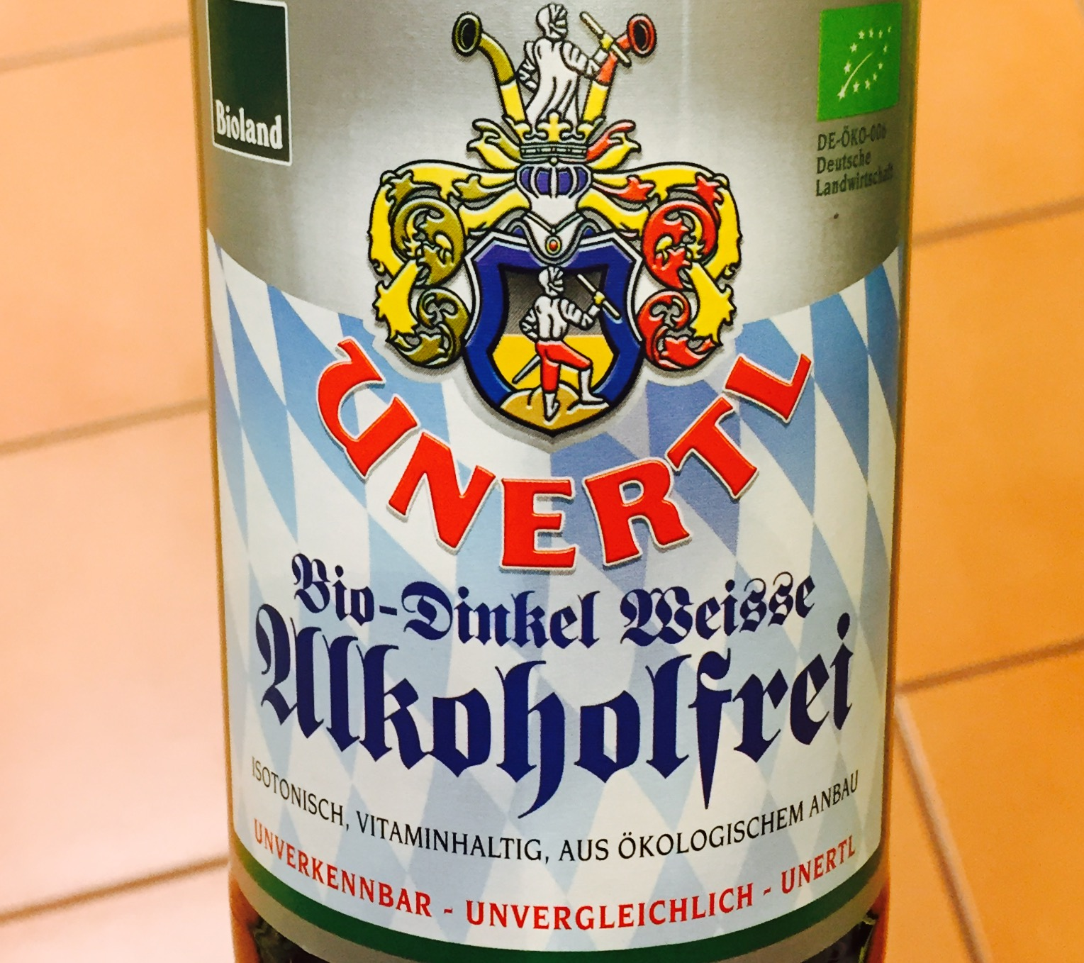 Unertl - Bio Dinkel Weisse Alkoholfrei