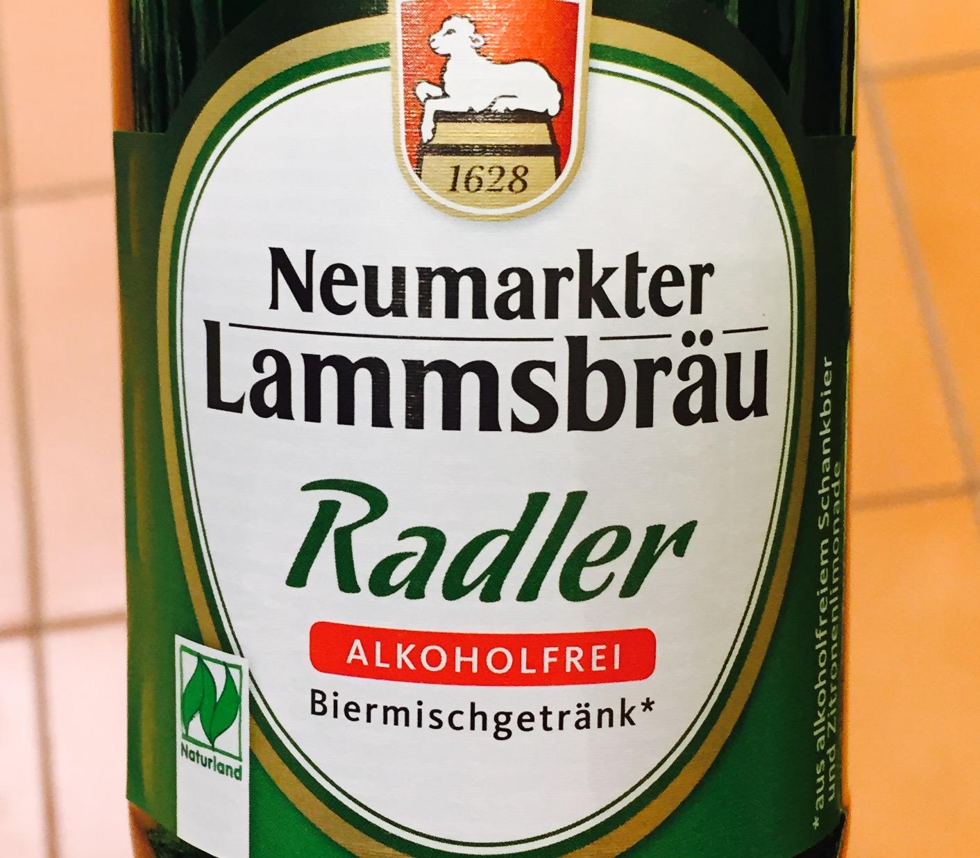 Neumarkter Lammsbräu - Radler Alkoholfrei