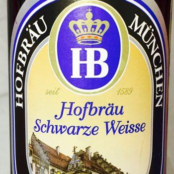 Hofbräu - Schwarze Weisse