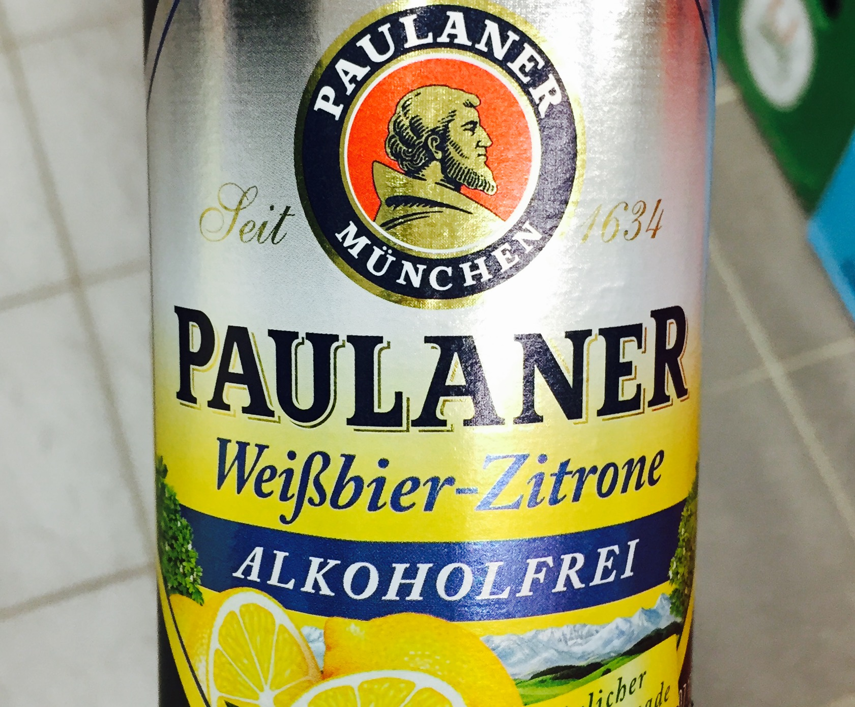 Paulaner - Weißbier Zitrone Alkoholfrei