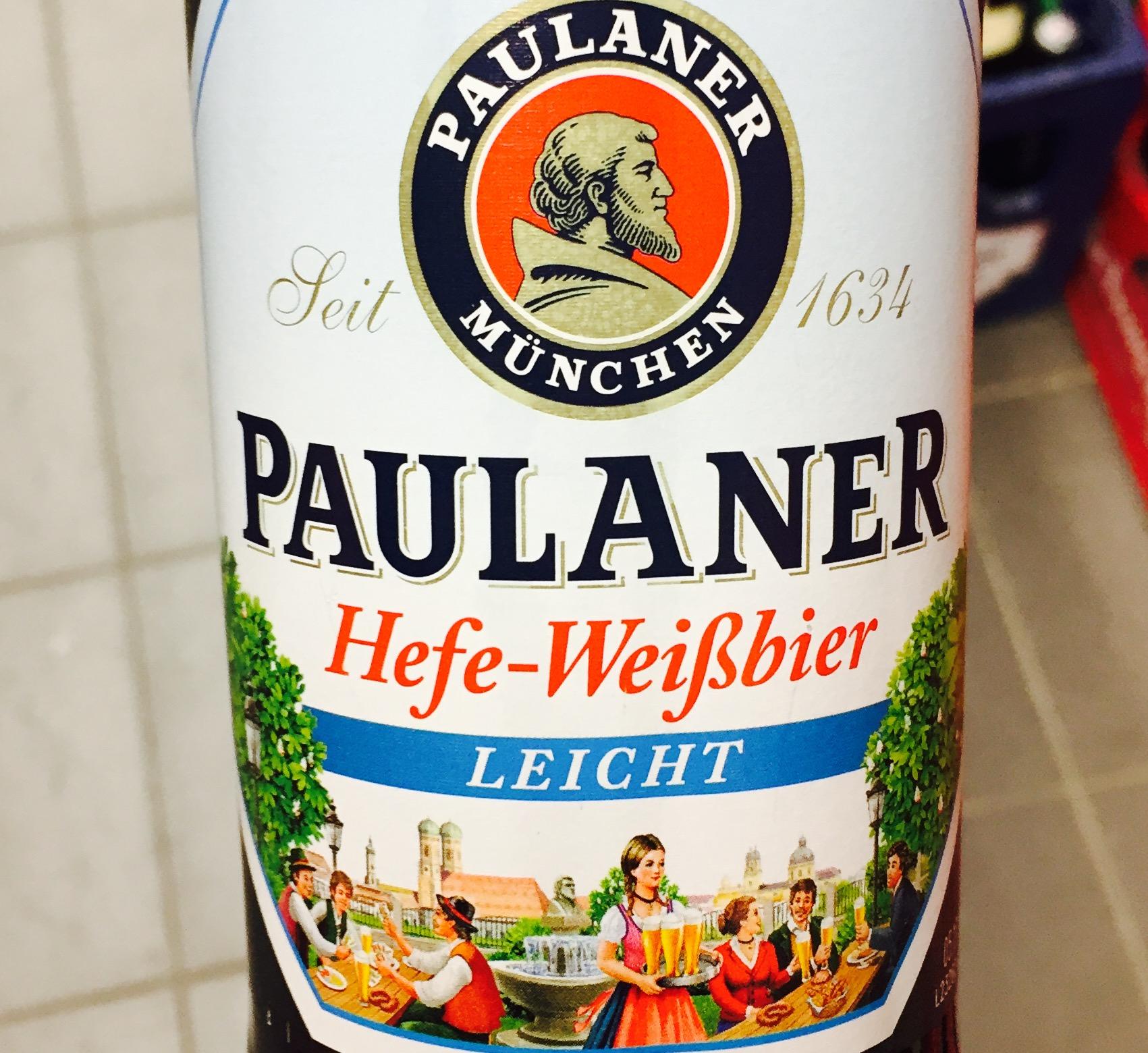 Paulaner - Hefe Weißbier Leicht