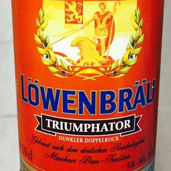 Löwenbräu - Triumphator, Doppelbock, dunkler, Beer, Tasting, Rating, Bier, Verkostung, Bewertung, Alle Biere der Welt, hier bei BeerToGo