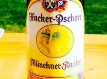 Hacker Pschorr - Münchner Radler, Biermischgetränk, Bier, Limo, Beer, Tasting, Rating, Bier, Verkostung, Bewertung, Alle Biere der Welt, hier bei BeerToGo