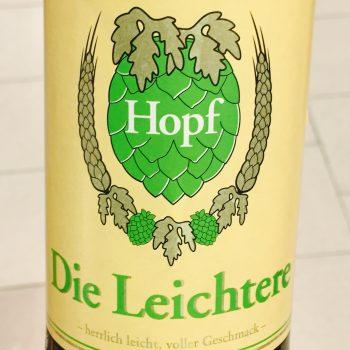 Hopf - Die Leichtere