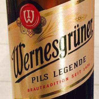 Wernesgrüner - Pils Legende