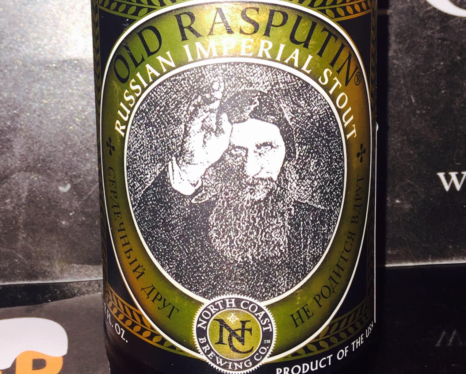Old Rasputin - Russian Imperial Stout