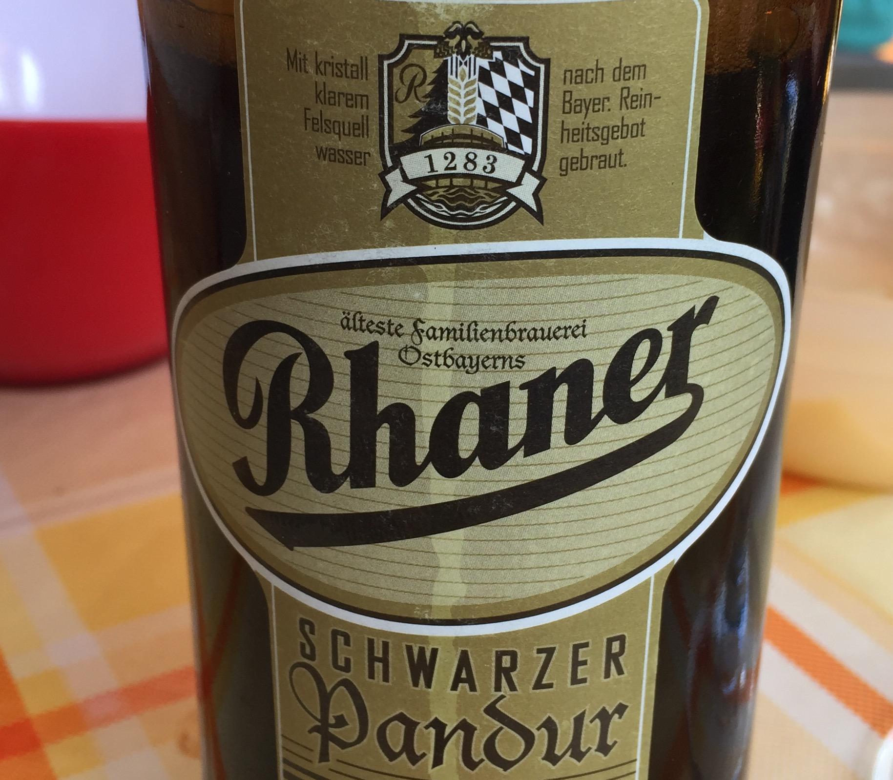 Rahner - Schwarzer Pandur