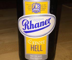 Rhaner - Export Hell