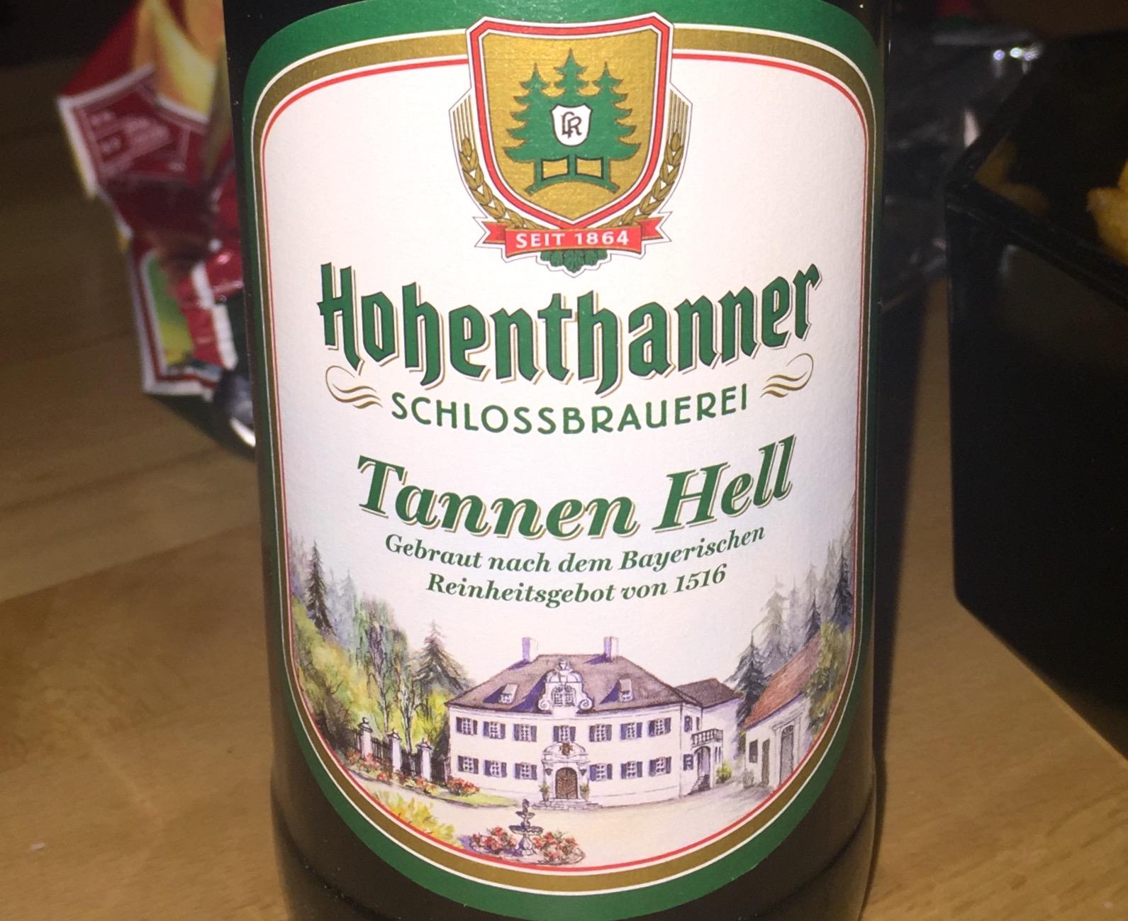 Hohenthanner - Tannen Hell