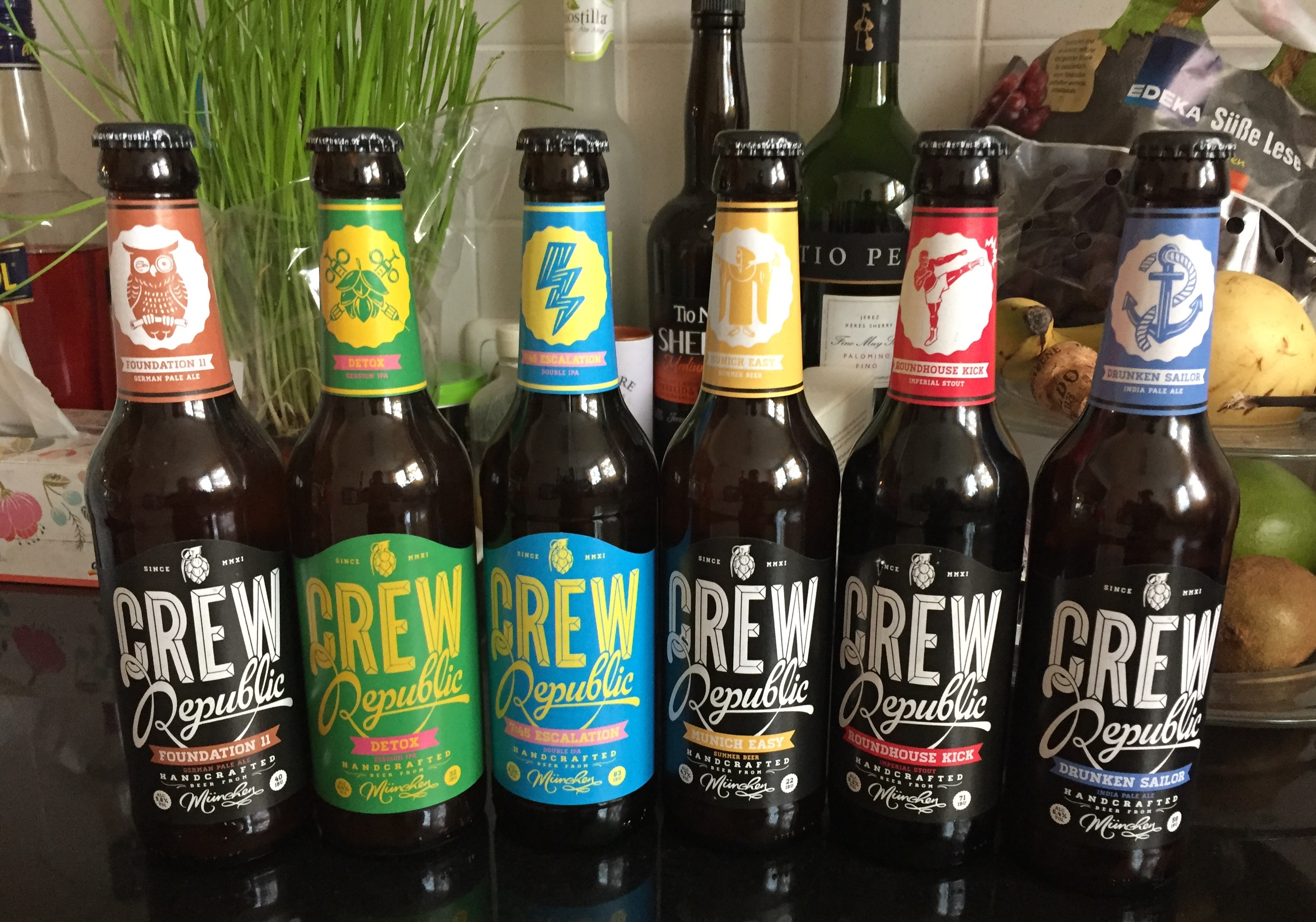 Crew Republic - Beer assortment
