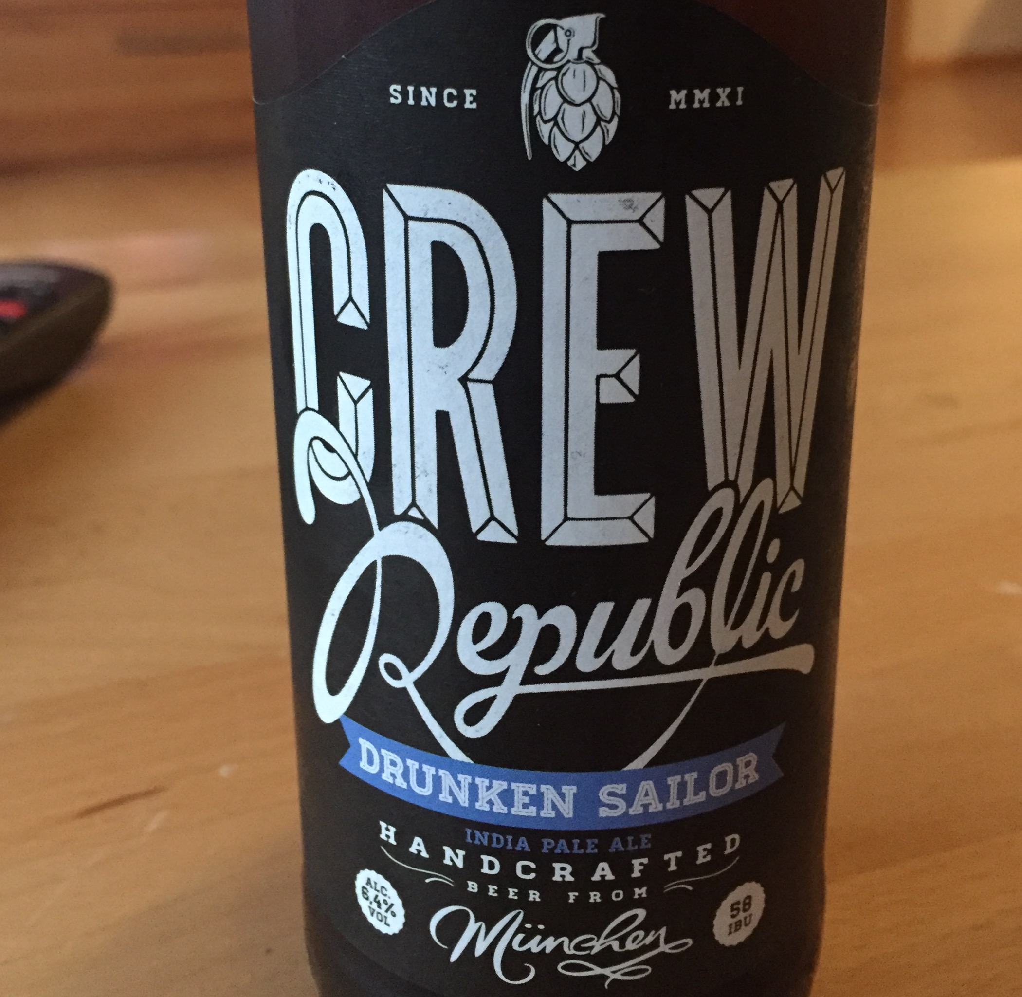 Crew Republic - Drunken Sailor