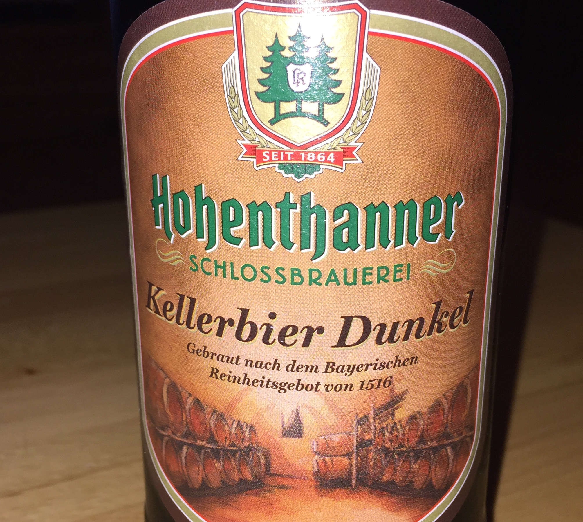 Hohenthanner - Kellerbier Dunkel