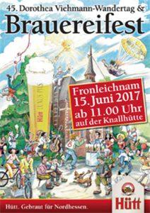 45. Dorothea Viehmann-Wandertag & Hütt-Brauereifest