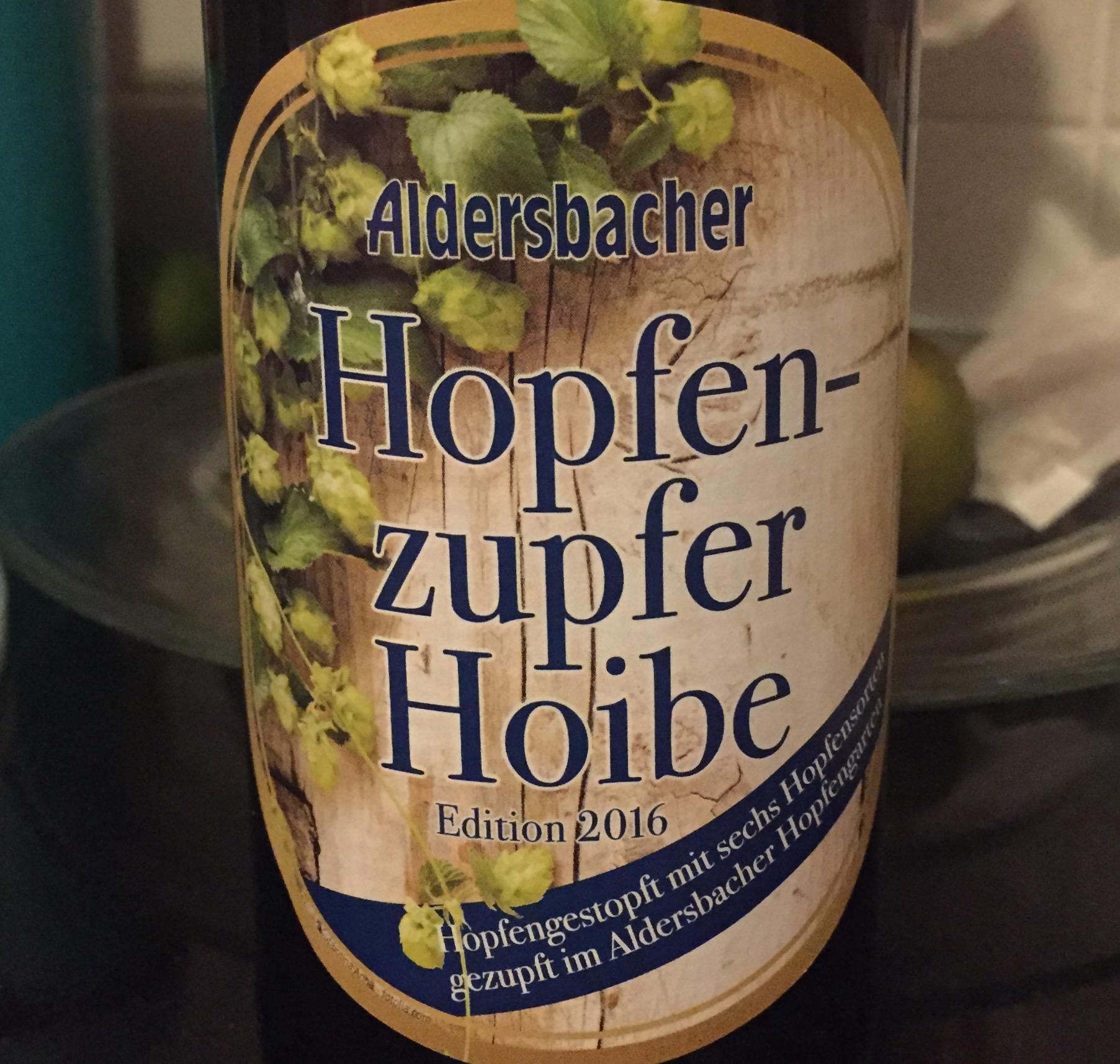 Aldersbacher - Hopfenzupfer Hoibe