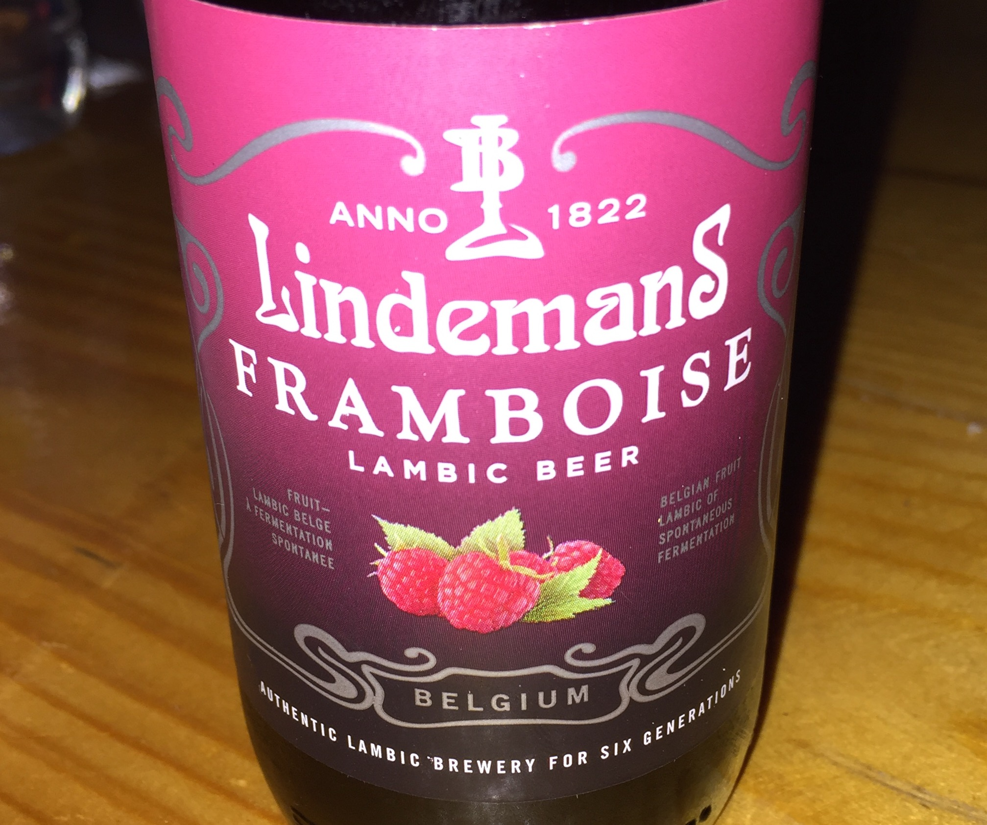 Lindemans - Framboise Lambic Beer