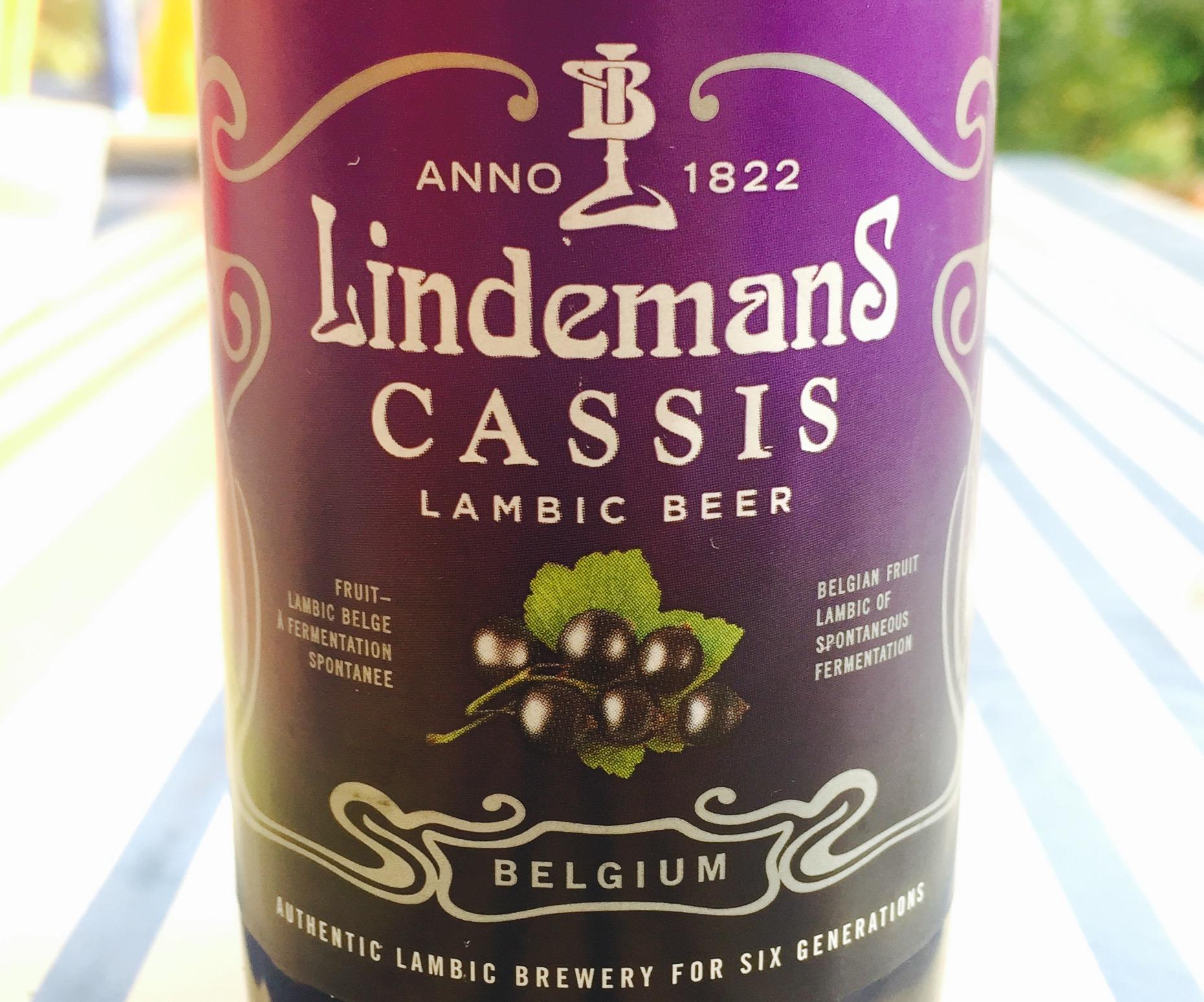 Lindemans - Cassis Lambic Beer