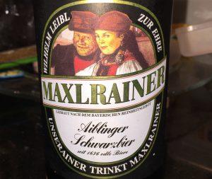 Maxlrainer - Aiblinger Schwarzbier