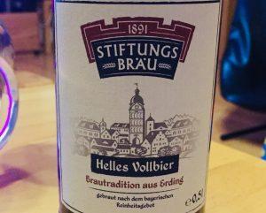 Stiftungsbräu - Helles Vollbier